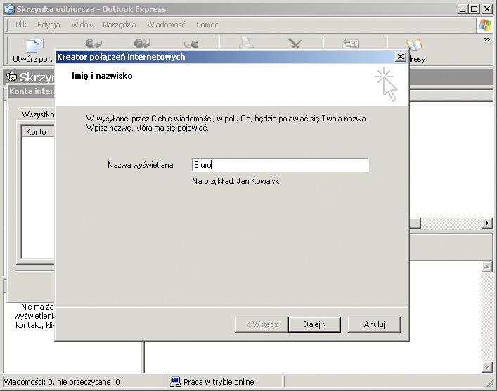 cc004e48ebc70d Strony i sklepy internetowe Poznań | MANGOMEDIA.PL - Konfiguracja programu  Microsoft Outlook Express 5 i 6.